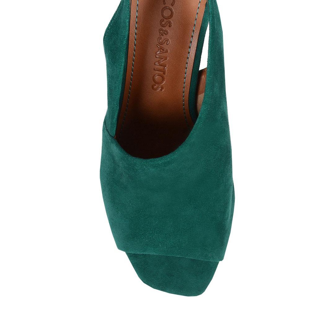 Sandália verde I19                            2