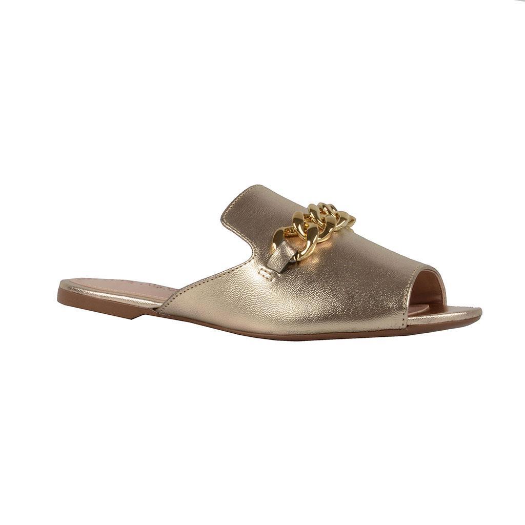 Imagem - Slide metalizado dourado