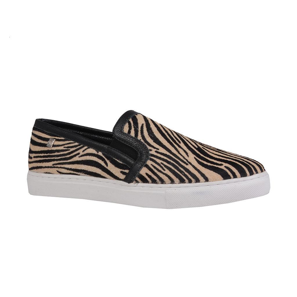Imagem - Tênis slip on em pelo zebra I19