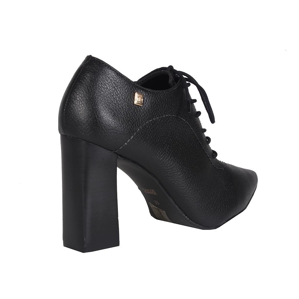 Ankle boot preta                              3