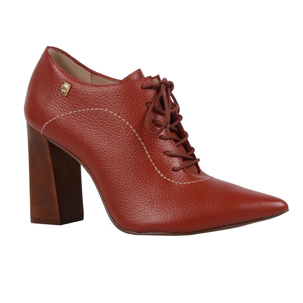 Imagem - Ankle boot telha