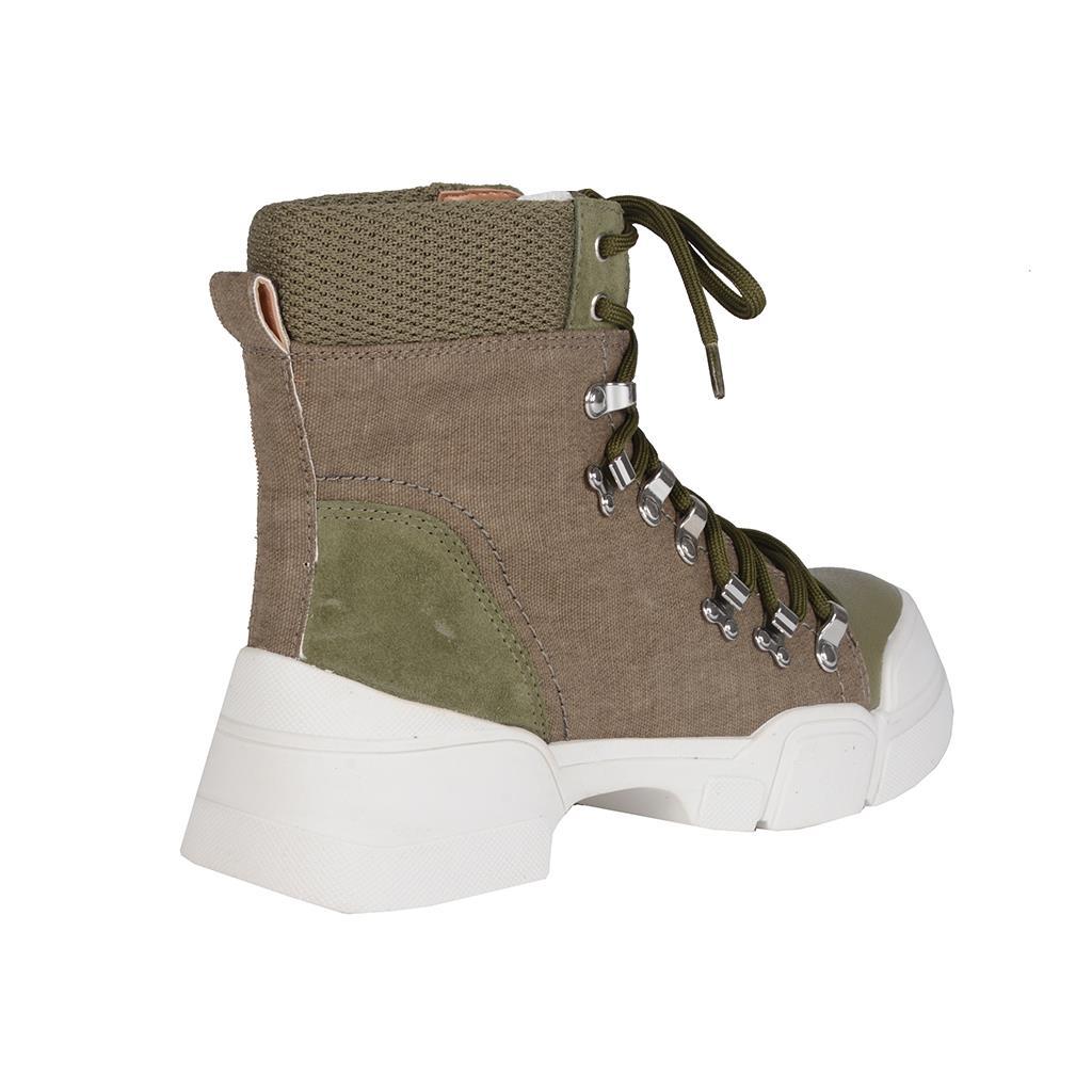 Hiking boot verde militar I19 3