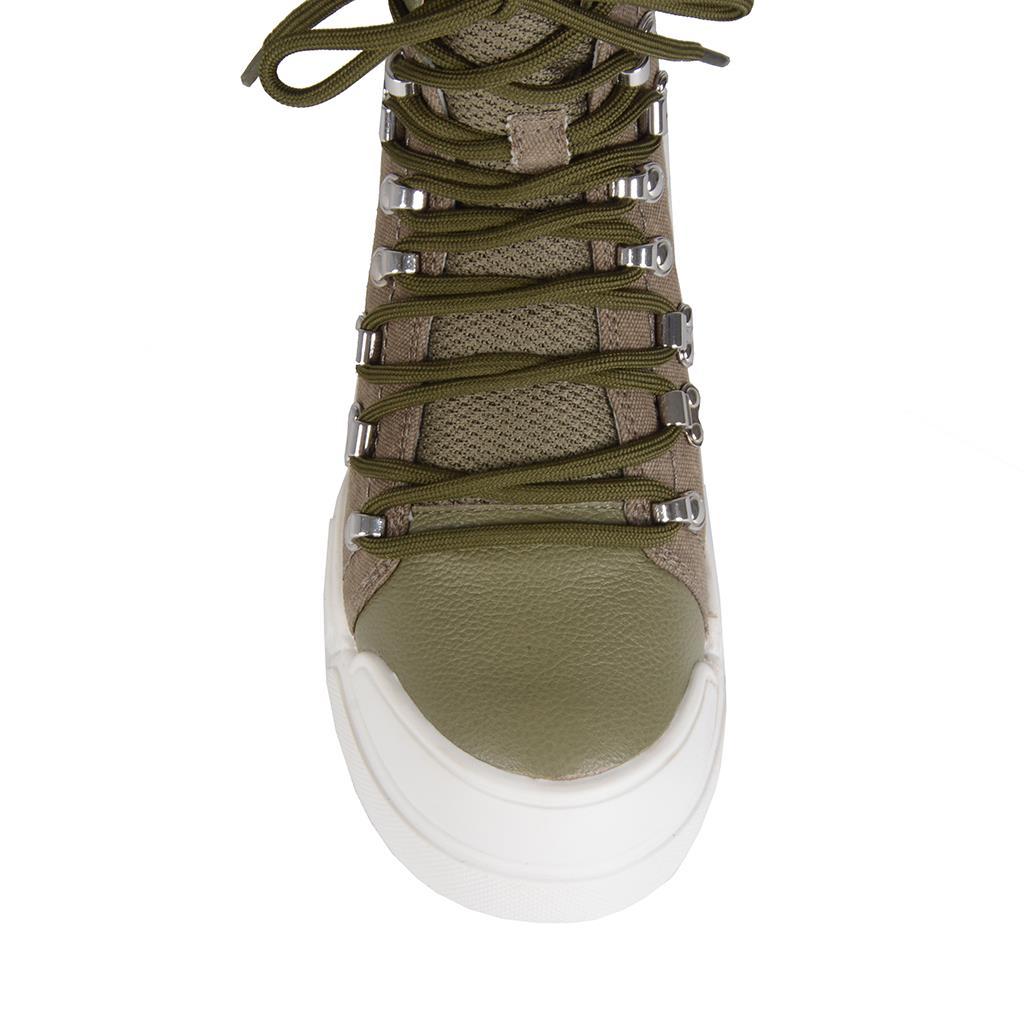 Hiking boot verde militar I19 4