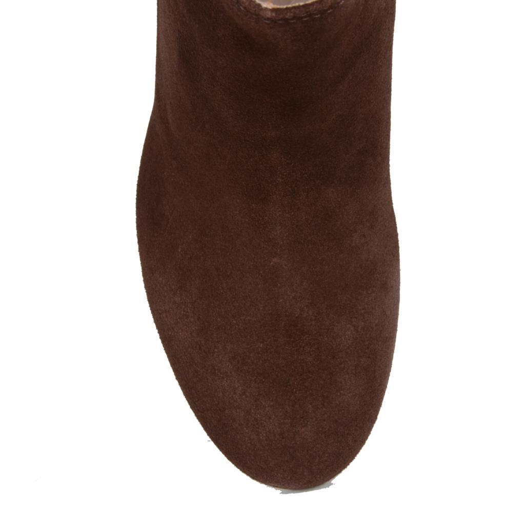 Ankle boot camurção café                      4