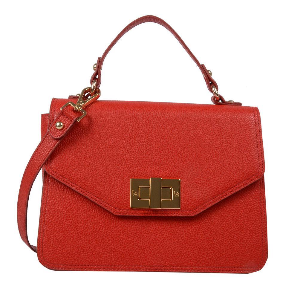 Imagem - Bolsa estruturada vermelha