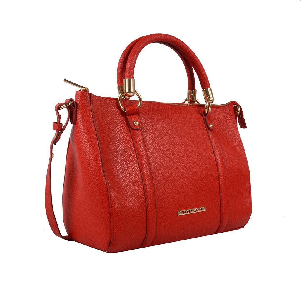 Bolsa estruturada vermelho                    2