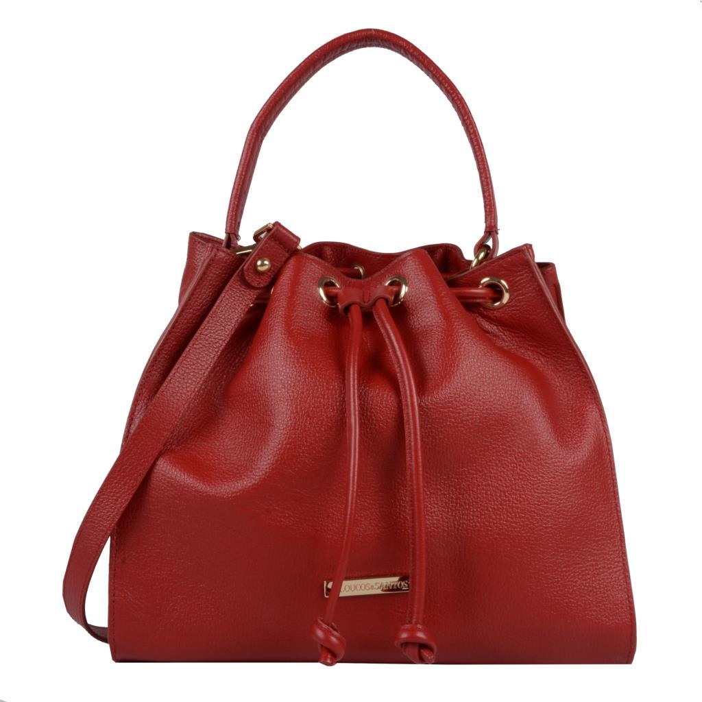 Imagem - Bolsa saco vermelha