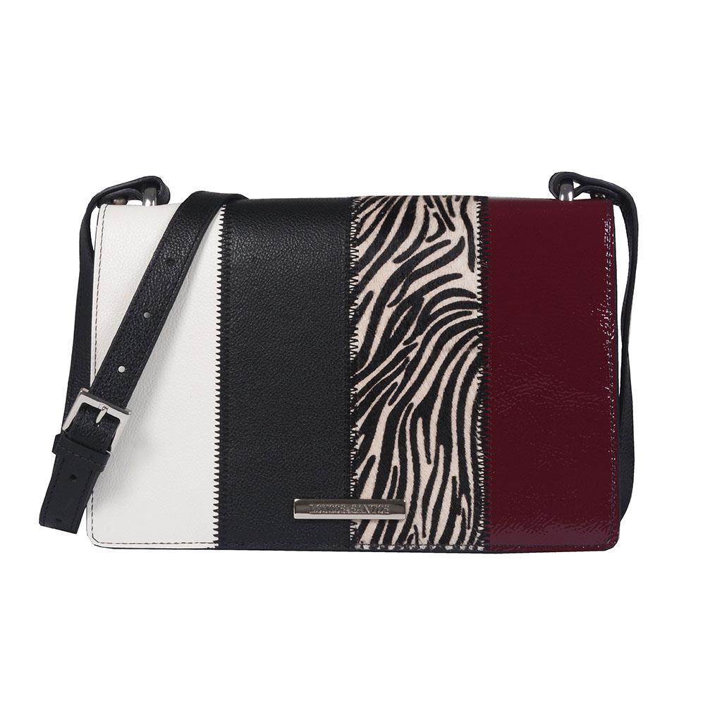 Imagem - Bolsa tiracolo zebra multicolor I19