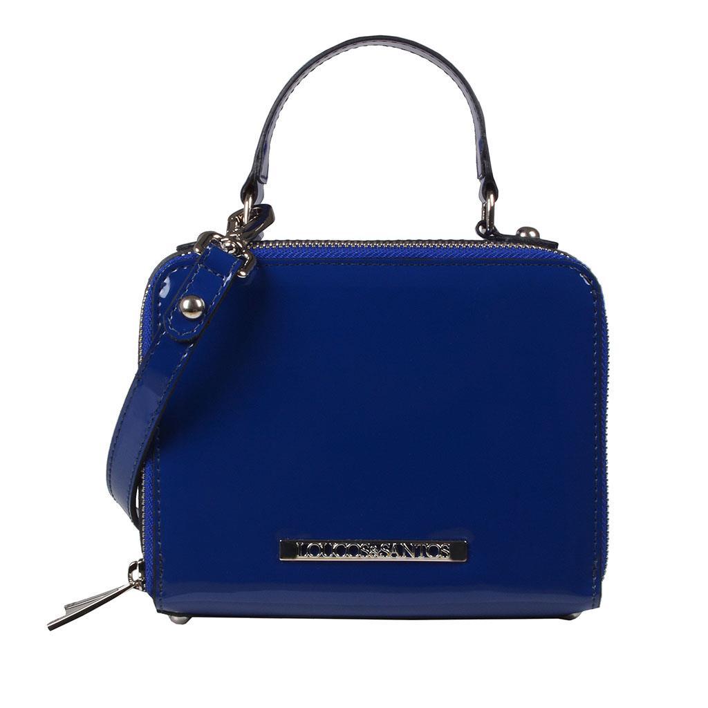 Imagem - Bolsa box azul V19