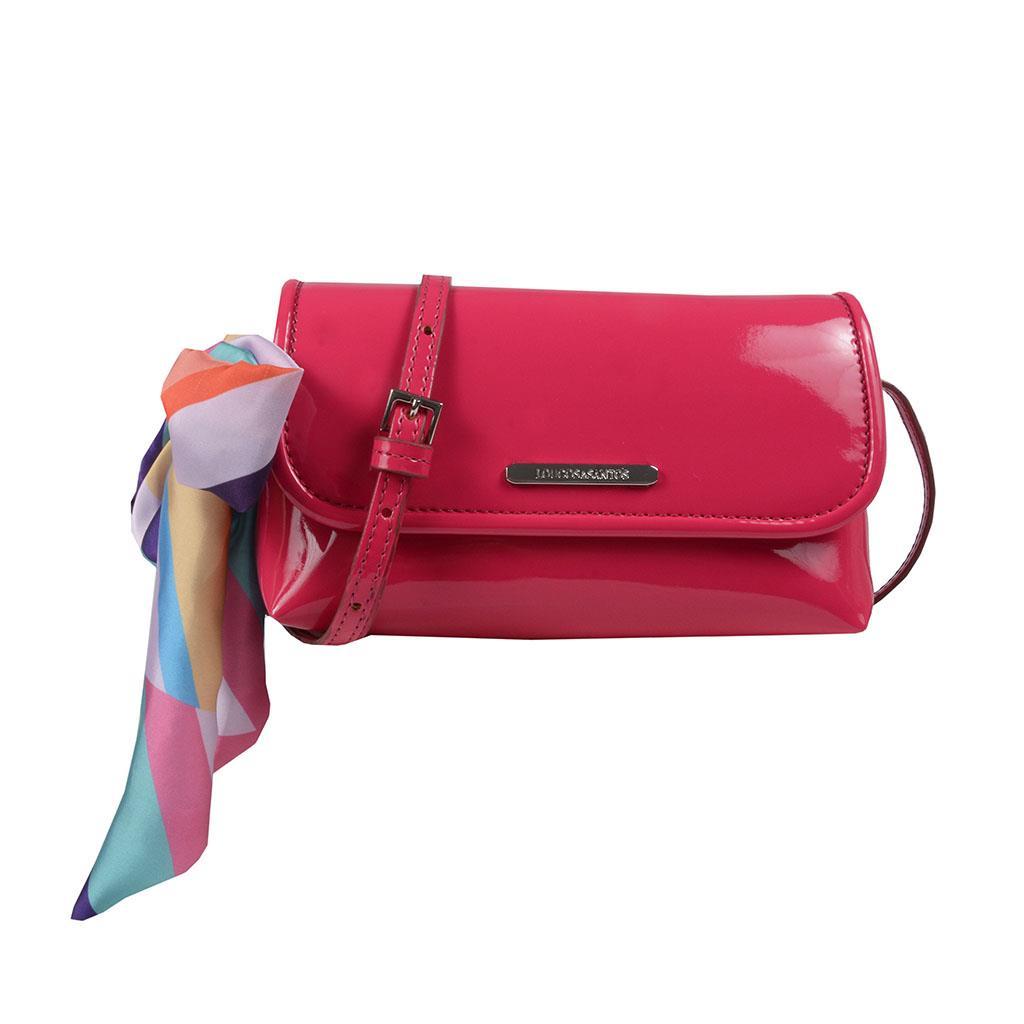Imagem - Clutch tiracolo rosa pink V19