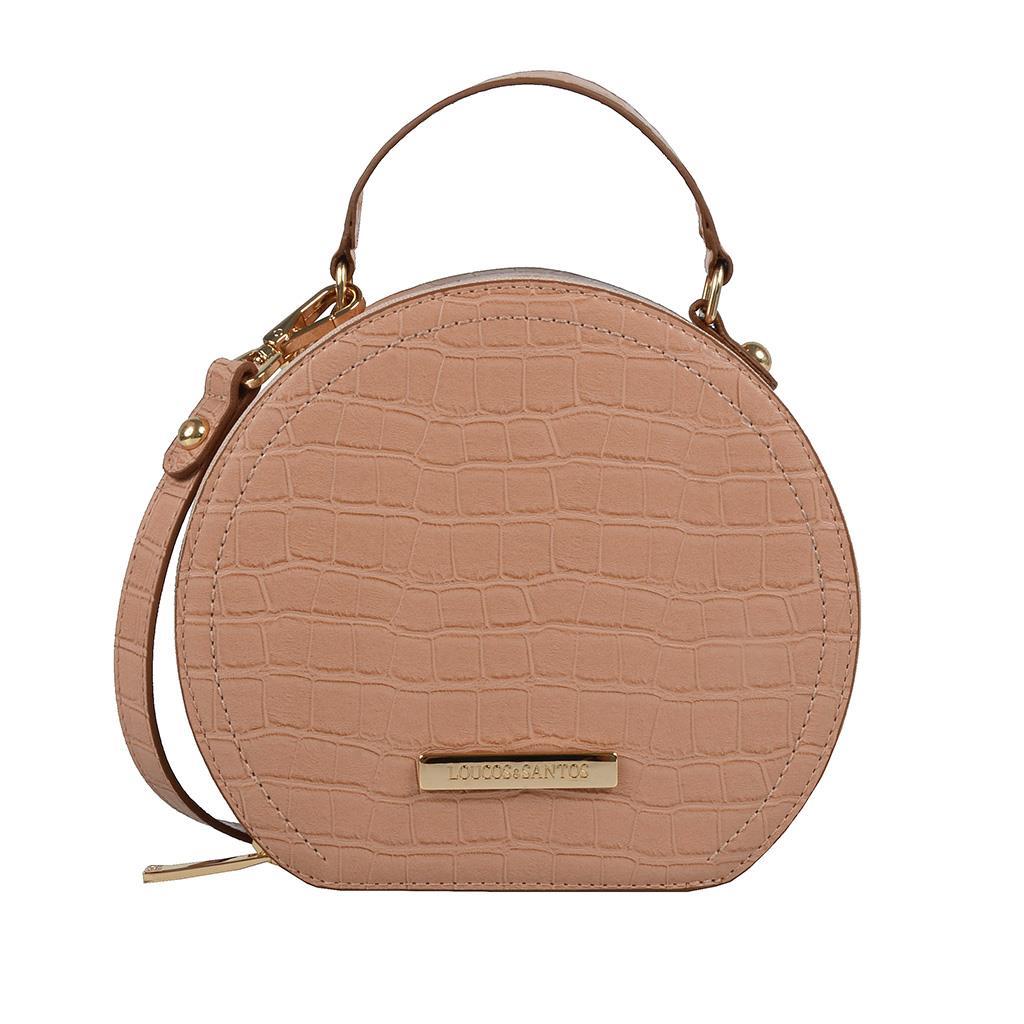 Imagem - Bolsa box (redonda) tiracolo blush I19