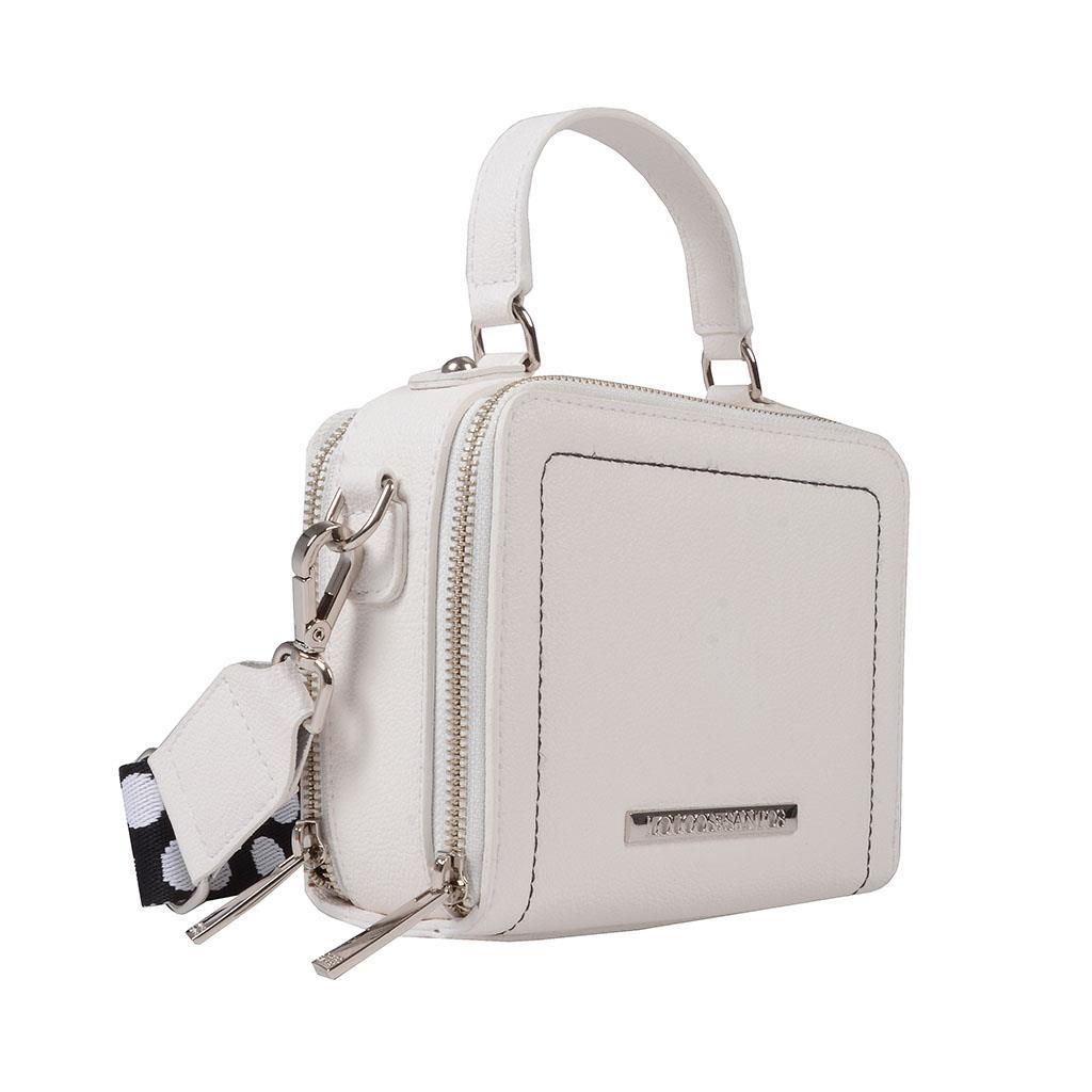 Bolsa box tiracolo branca I19                 2