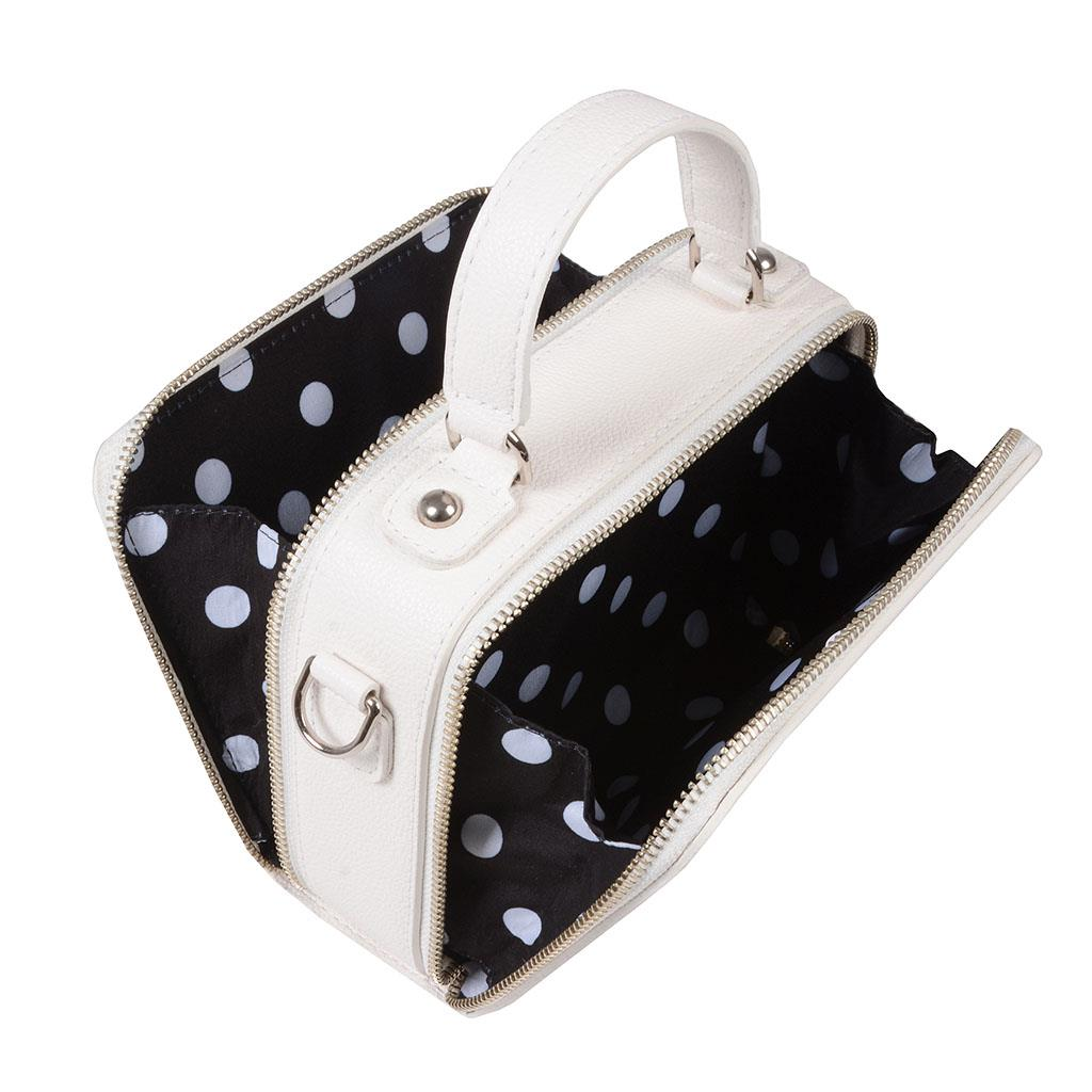Bolsa box tiracolo branca I19                 5