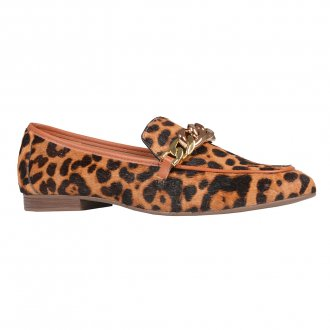 Imagem - Loafer Animal Print com Detalhe de Corrente I21
