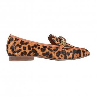 Loafer Animal Print com Detalhe de Corrente I21 2