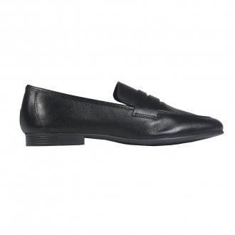 Loafer Couro Preto I21 2