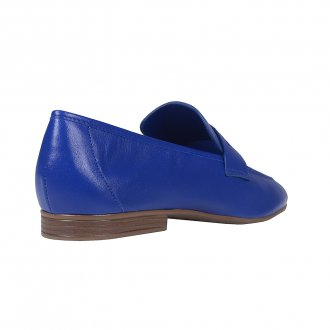 Loafer Couro Azul Royal I21 4