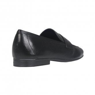 Loafer Couro Preto I21 3