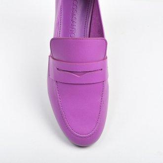 Loafer Couro Orquídea V22 2