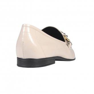 Loafer Off White com Corrente I21 4