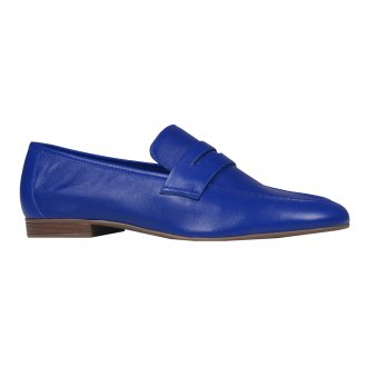 Loafer Couro Azul Royal I21