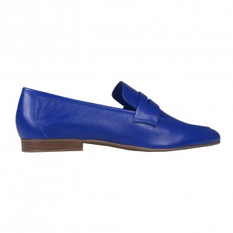 Loafer Couro Azul Royal I21 3