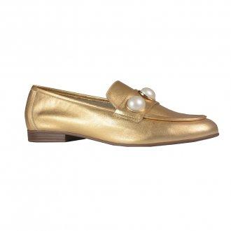 Imagem - Loafer Dourado com Pérolas I21
