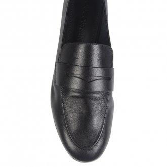 Loafer Couro Preto I21 4