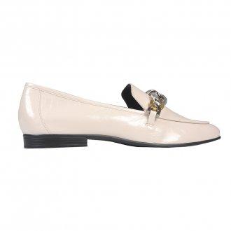 Loafer Off White com Corrente I21 3
