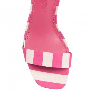 Sandália Listras Pink com Amarração I20  2