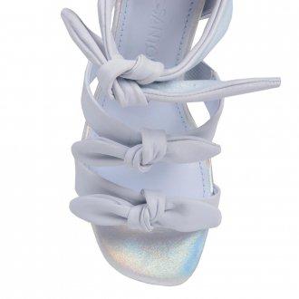 Sandália Couro Light Blue V21 3