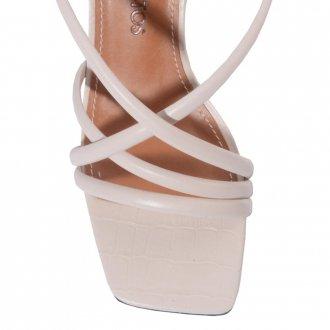 Sandália Off White de Tiras V21 3