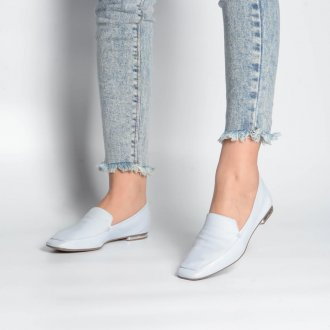 Loafer Couro Light Blue V21 2