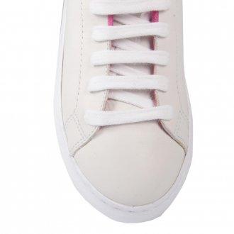 Tênis Casual Branco com Rosa V21 3