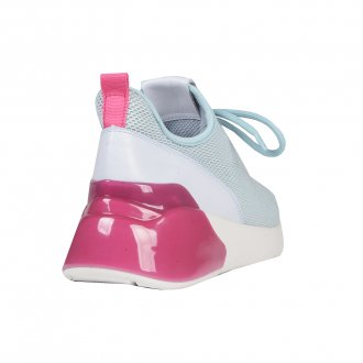 Tênis Esportivo Light Blue com Pink V21 3