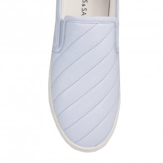 Tênis Slip On Matelassê Light Blue V21 3