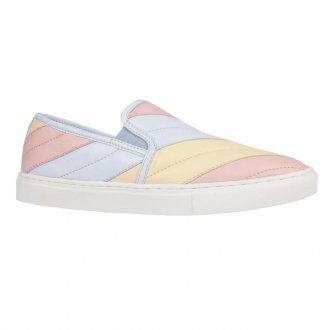 Tênis Slip On Matelassê Candy Colors V21