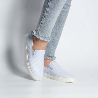 Tênis Slip On Matelassê Light Blue V21 2