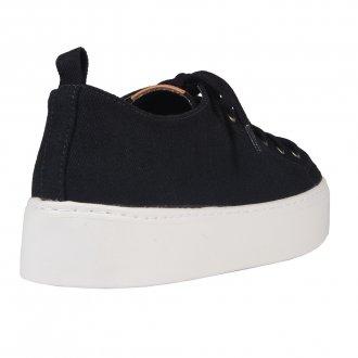 Tênis Casual Tecido Jeans Preto I20 3