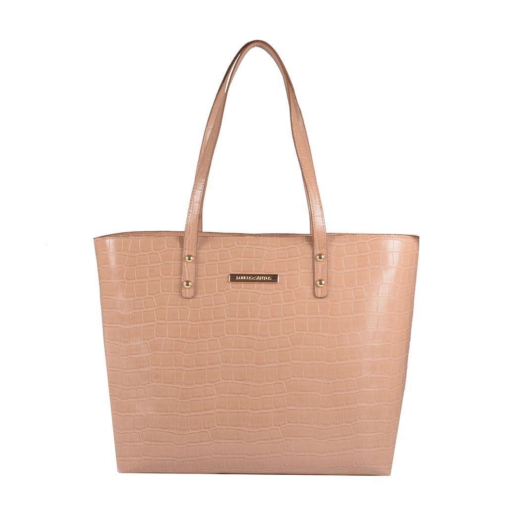 Bolsa sacola  com bag charm I19