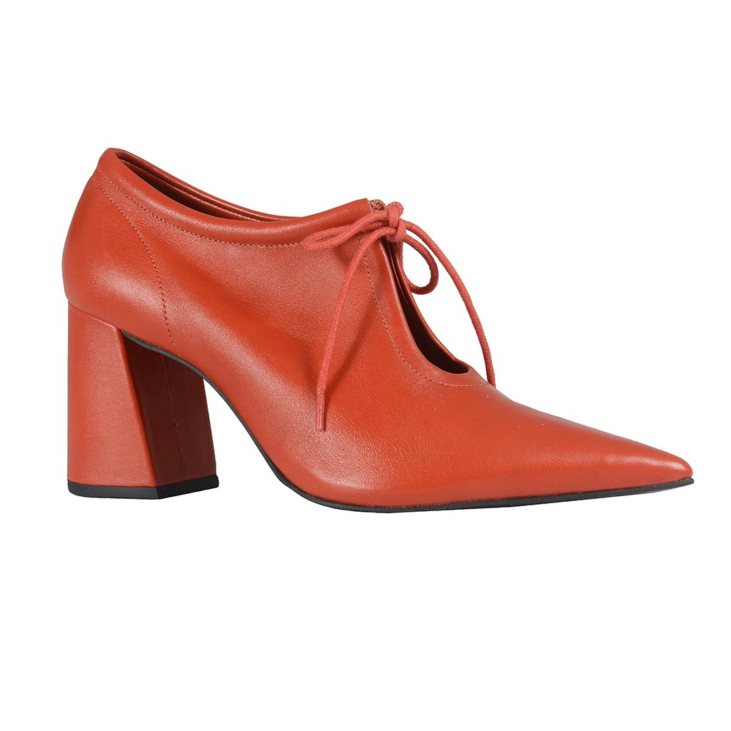 Ankle Boot Couro Rust I21
