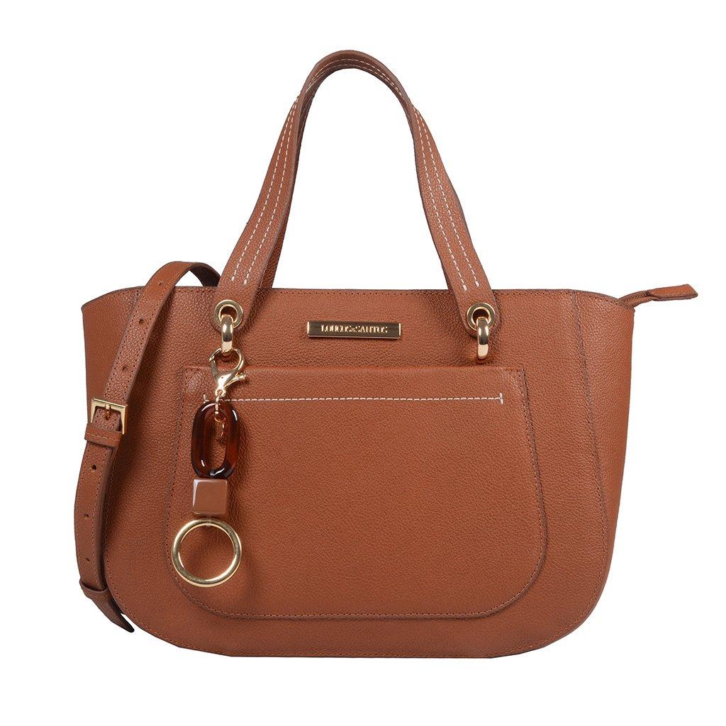 Bolsa Estruturada Âmbar com Bag Charm V20