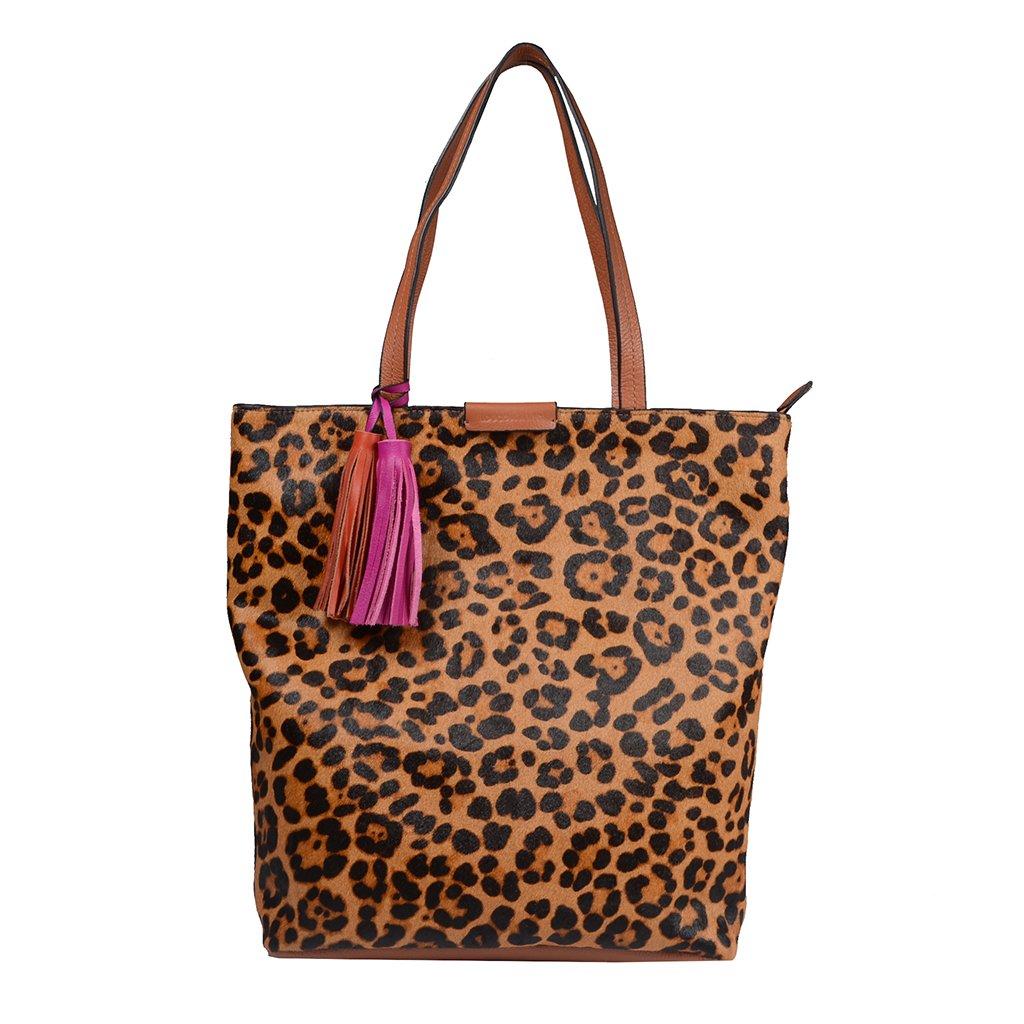 Bolsa Shopping Pelo Animal Print I21