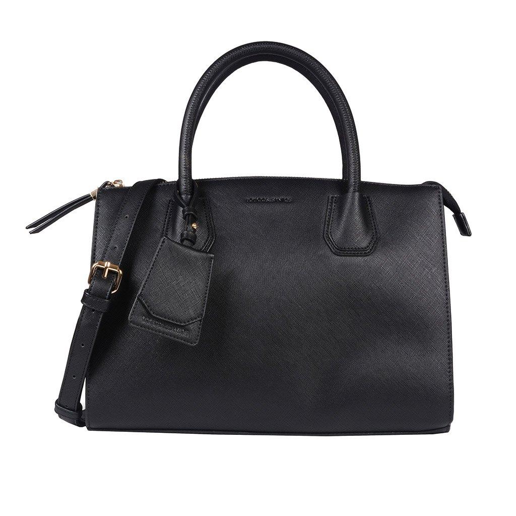 Bolsa Preta com Bag Charm V20