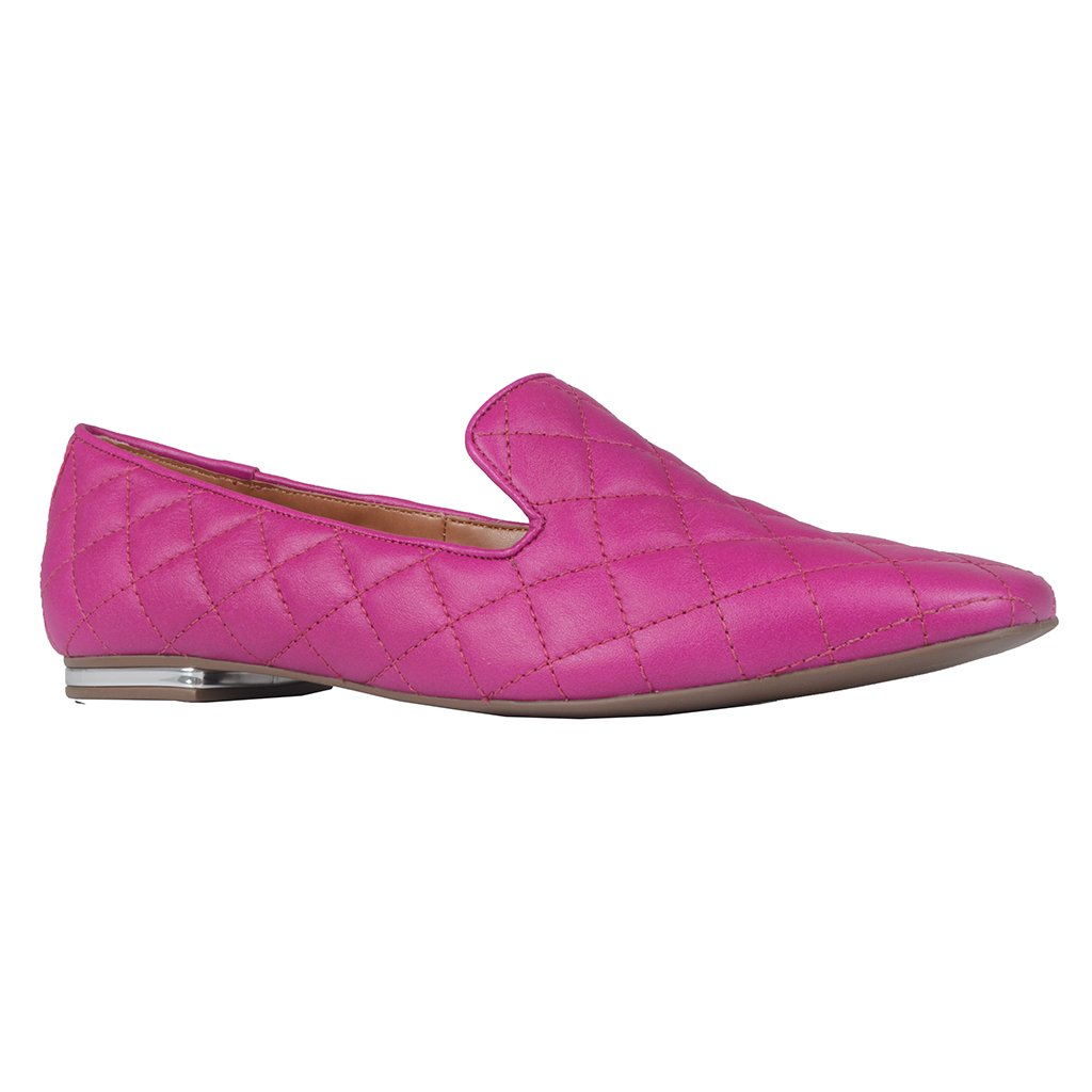 Loafer Couro Fucsia I21
