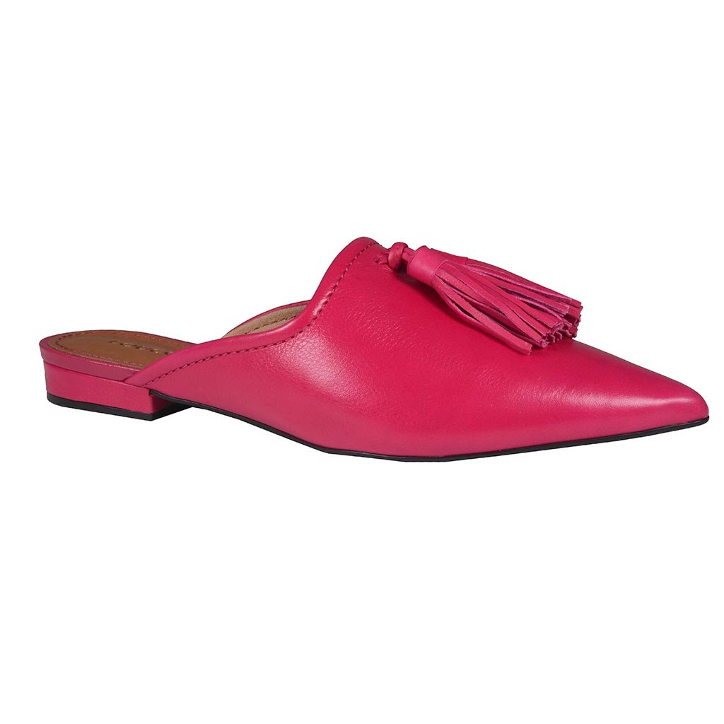 Mule Couro Pink com Barbicacho I20
