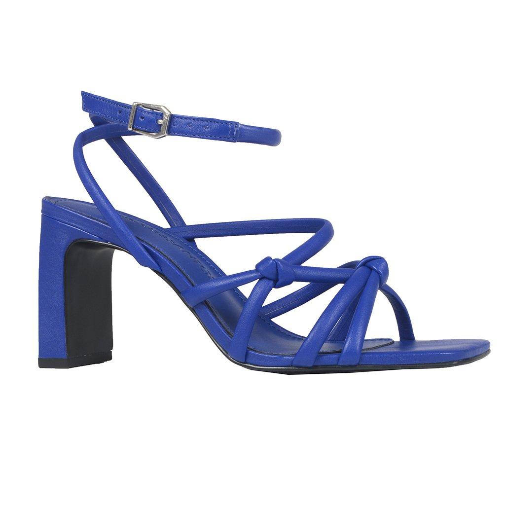 Sandália Tiras Azul Royal I21