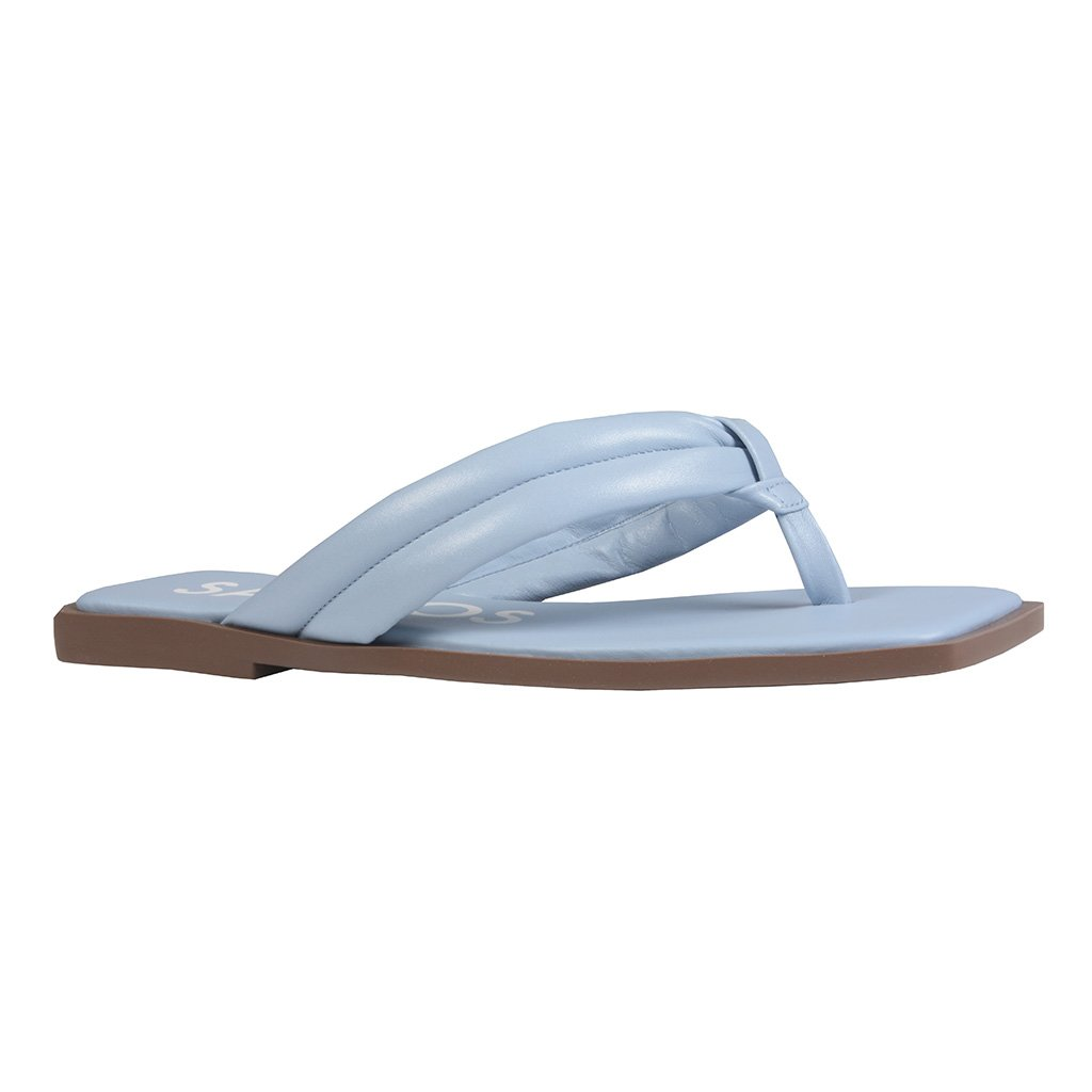 Flat Comfy Cotton Blue V22