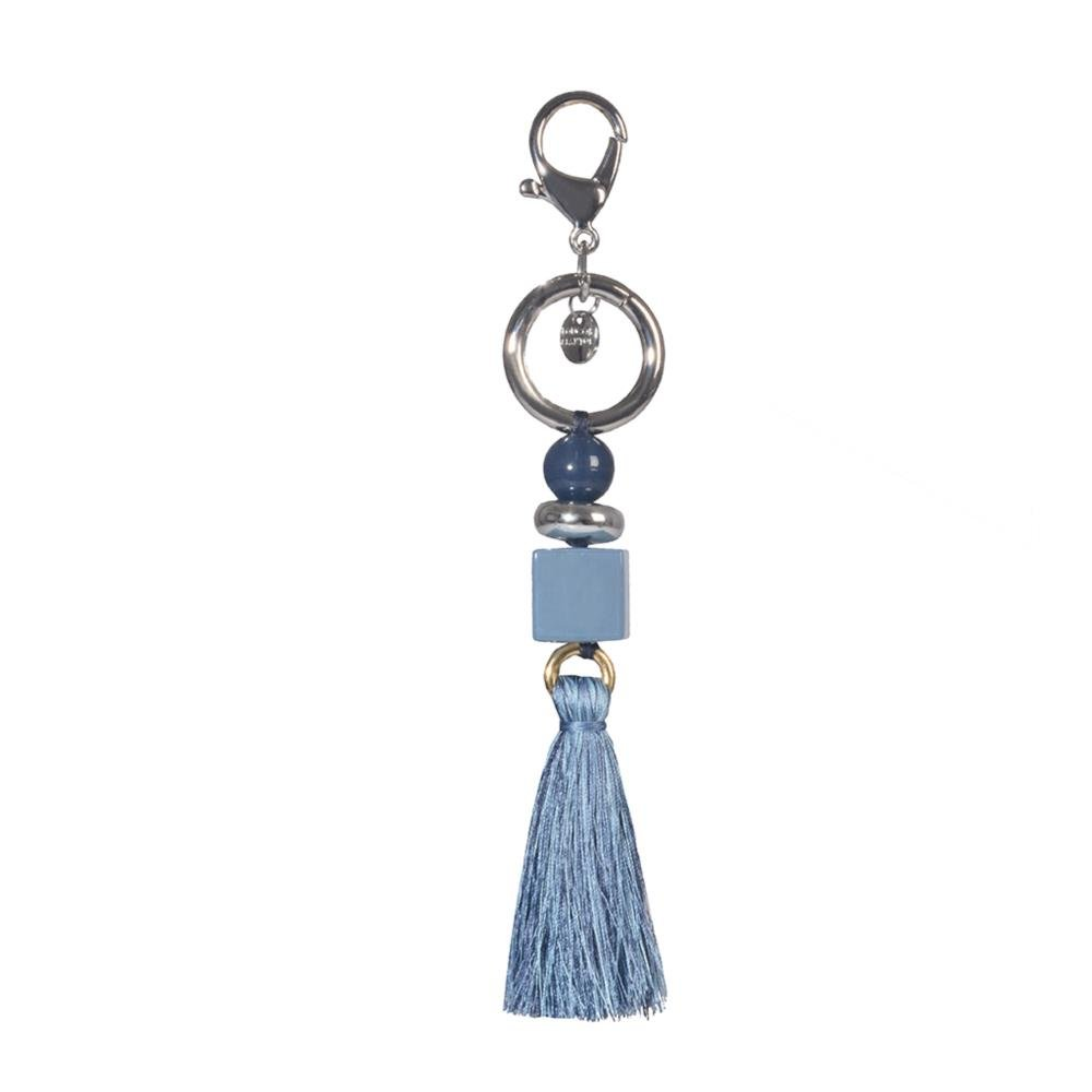 Bag Charm Azul com Barbicacho V21