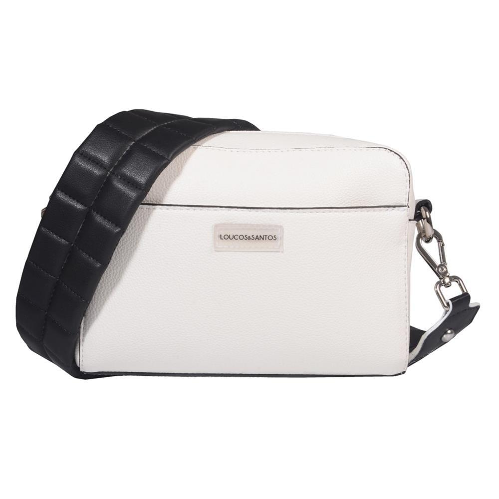 Clutch Branca com Alça Comfy V21